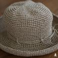 笹の糸の帽子