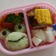 カエル弁当2