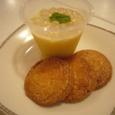 マンゴープリンとココナッツサブレ